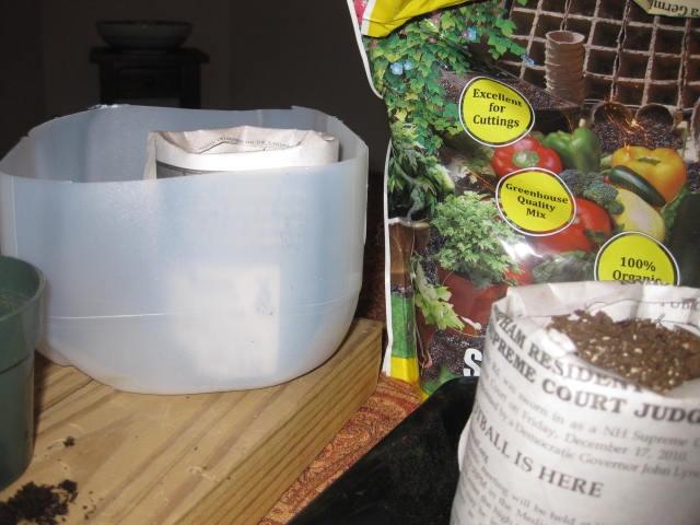 Seed Starting Mix Recipe